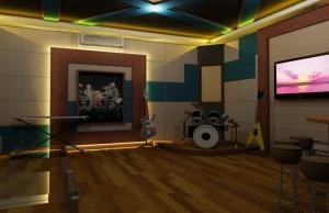 jasa peredam Karaoke Room