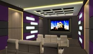 jasa peredam home theater