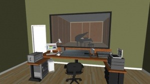 Project ruang Studio musik